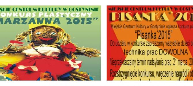 "KONKURSY ""MARZANNA"" i ""PISANKA"" 2015"