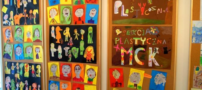 Wystawa sekcji plastycznej MCK – otwarta