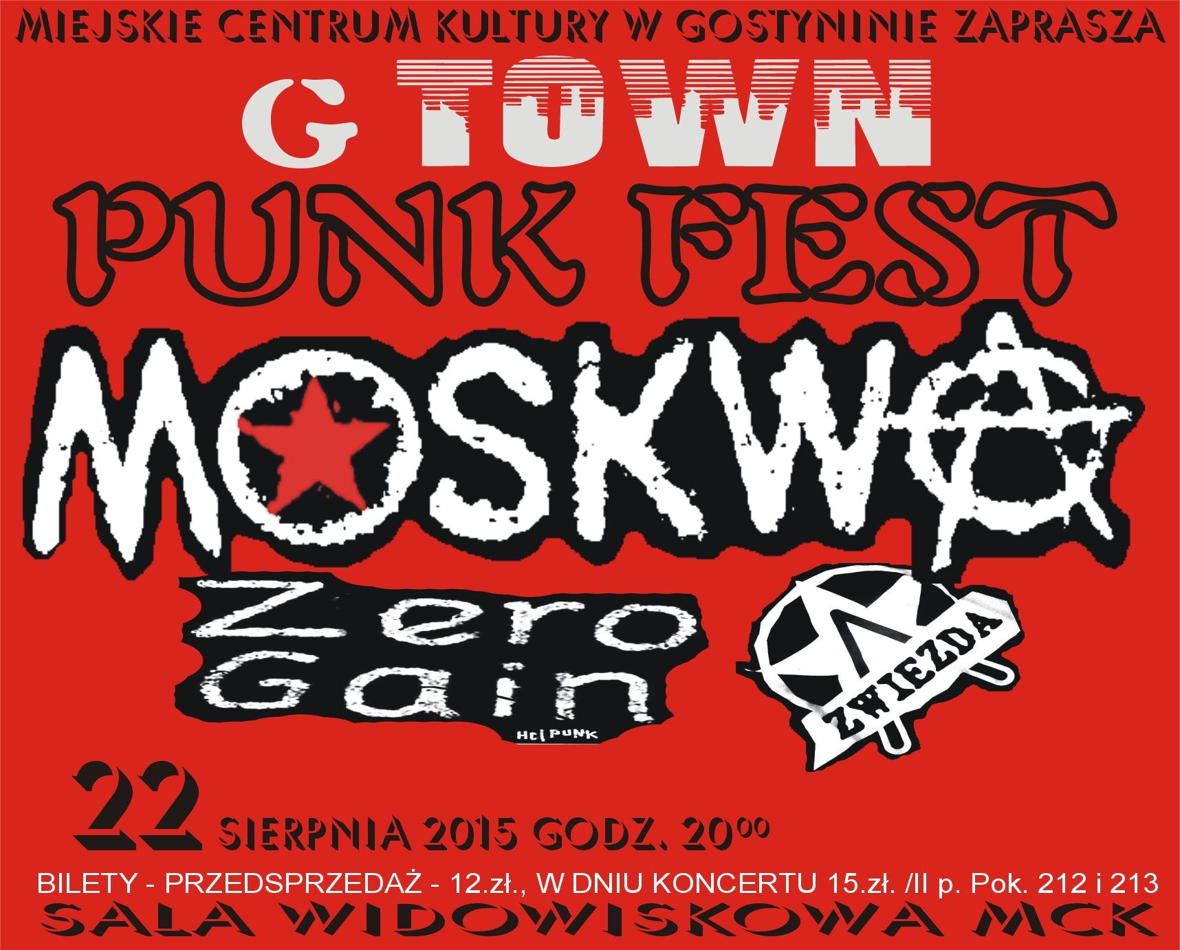 Punk Fest czerwony poprawiony