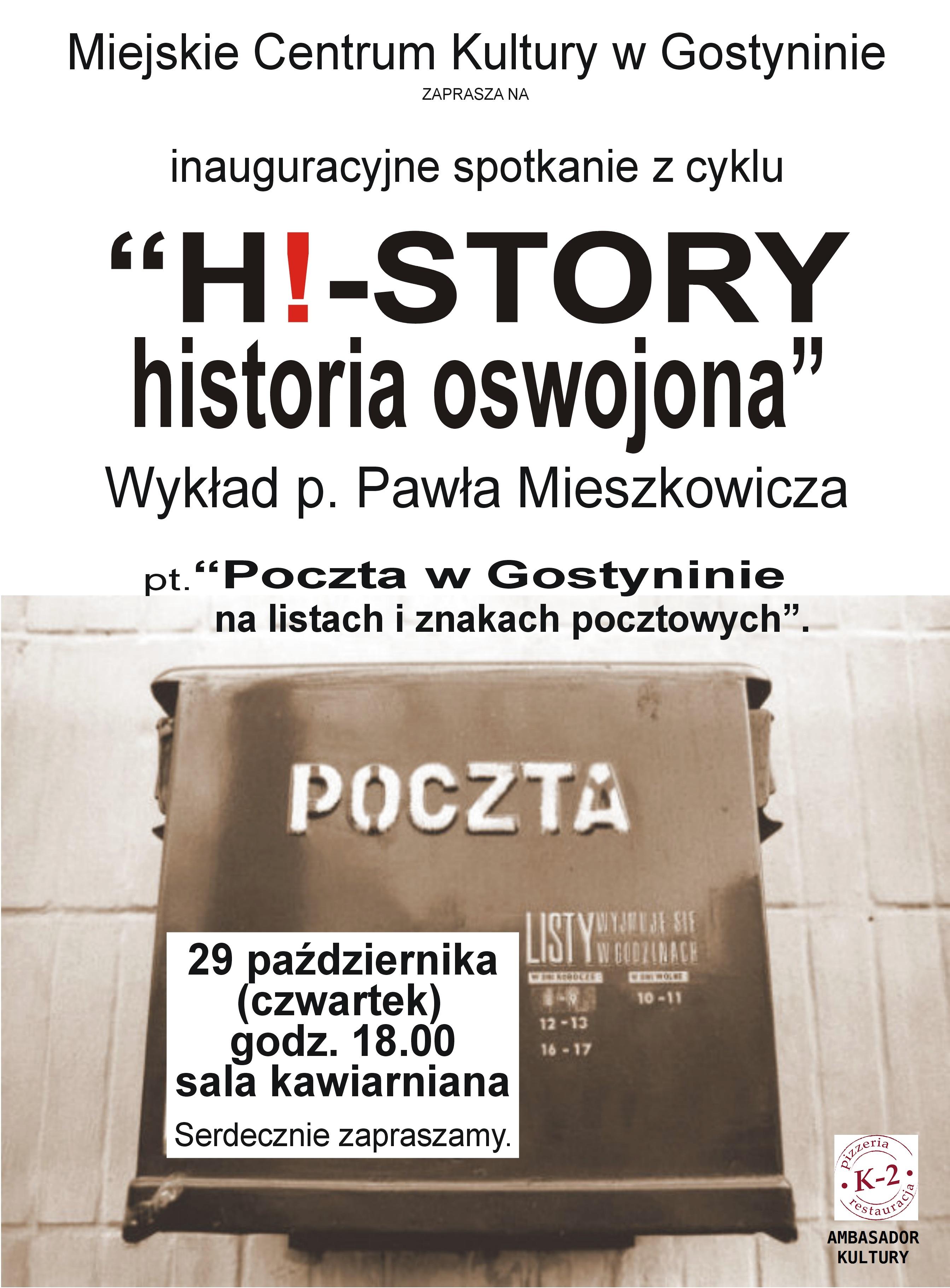 PLAKAT Mieszkowicz