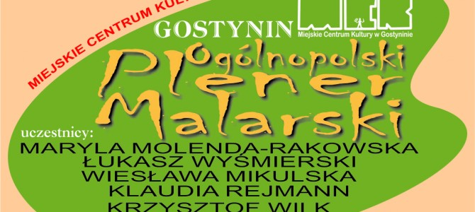 "PLENER MALARSKI ""GOSTYNIN-ŻNIN 2016″"