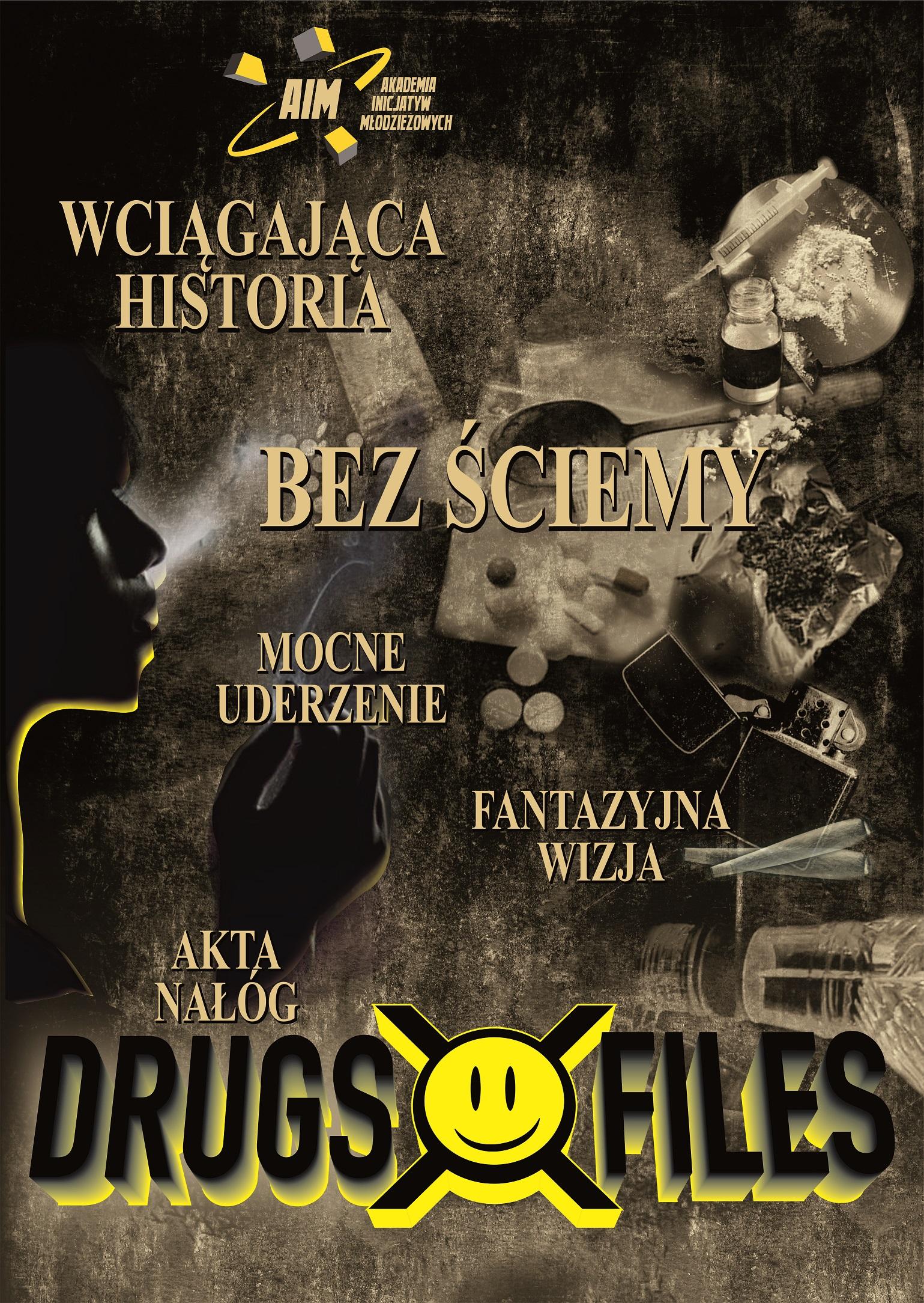 plakat Drugs sephia1