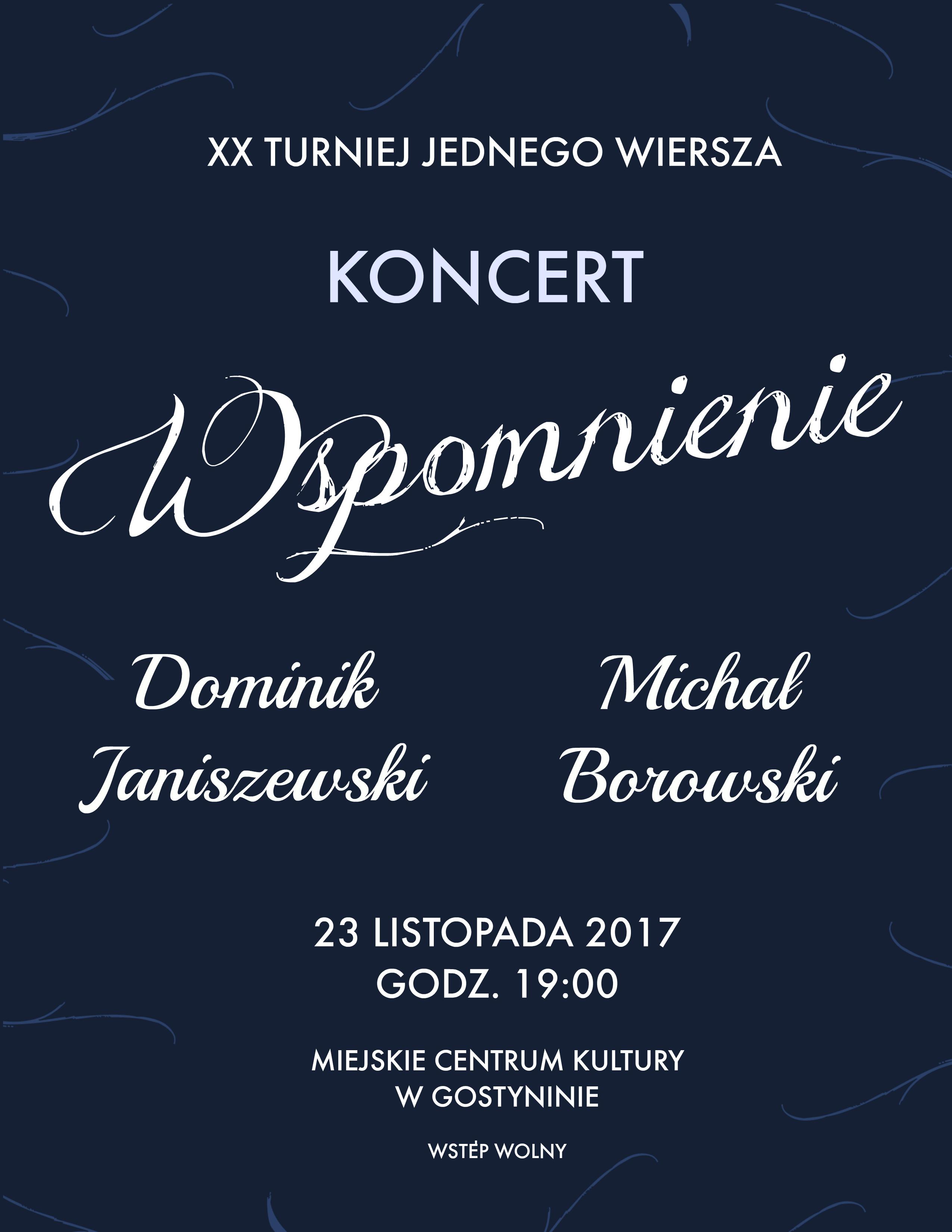 koncert turniej